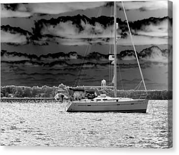 Whilst We Were Sailing Canvas Print by Rick Todaro