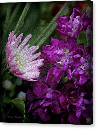 Whimsical Passion Canvas Print by Jeanette C Landstrom