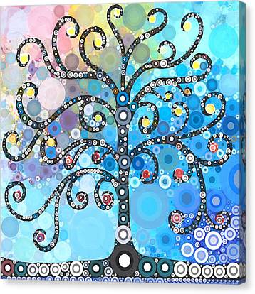 Whimsical Tree Canvas Print