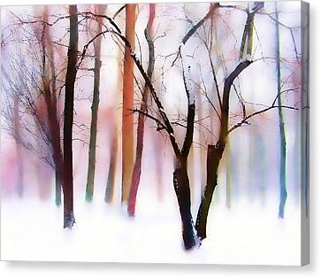 Whimsical Winter Canvas Print by Jessica Jenney