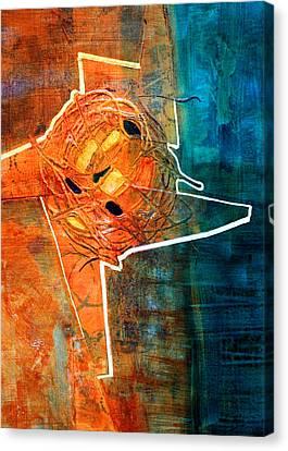 Sky Line Canvas Print - Whirl by Nancy Merkle