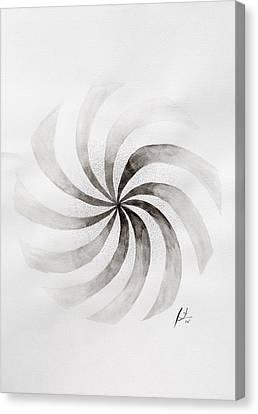 Whirl Canvas Print by Sumit Mehndiratta
