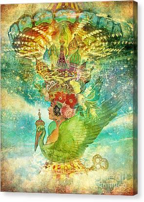 Whirligig Canvas Print by Aimee Stewart