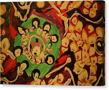 Whirlpool Canvas Print by Corey Haim