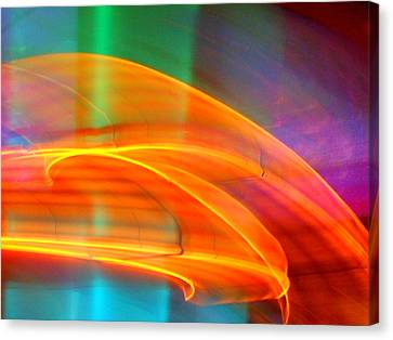 Whirlwind On Venus Canvas Print by James Welch