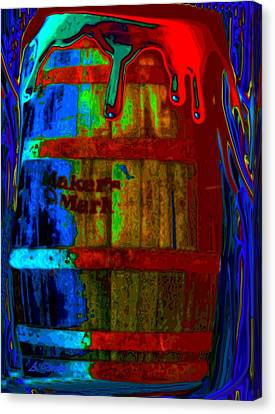 Whiskey A Go Go Canvas Print