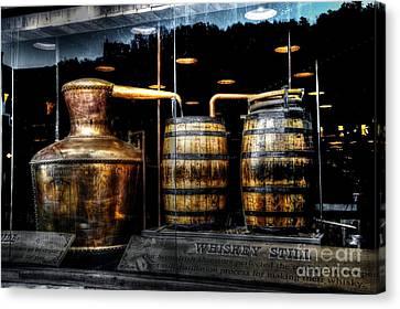 Whiskey Still On Main Street Canvas Print by Paul Mashburn