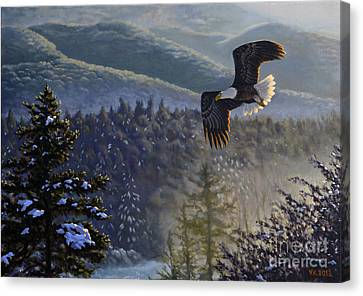 Whisper From The Valley Canvas Print