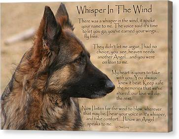 Whisper In The Wind Canvas Print