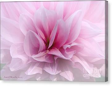 Jean_okeeffe Canvas Print - Whisper Love by Jean OKeeffe Macro Abundance Art