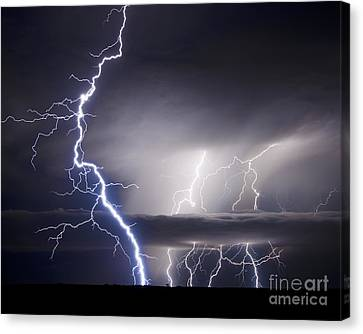 Whisper To The Thunder Canvas Print