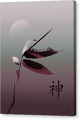 Whispering Bamboo  Canvas Print by IM Spadecaller