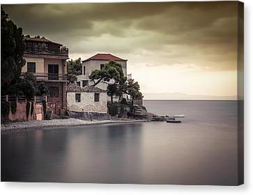 Whispers Of Autumn On Top On The Sea Canvas Print