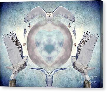 Whispers Of My Imagination Canvas Print by Heather King