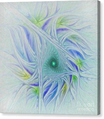 Whispy Willow Canvas Print