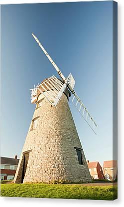 Whitburn Windmill Canvas Print by Ashley Cooper