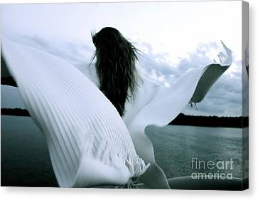 White Angel Canvas Print
