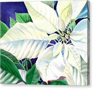 White Christmas Canvas Print by Irina Sztukowski