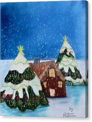 Christmasland Canvas Print by Joshua Maddison