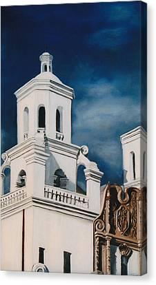 Canvas Print - White Dove by Jack Atkins