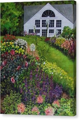 White Flower Farm Canvas Print