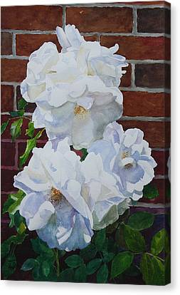 White Flower Canvas Print by Helal Uddin