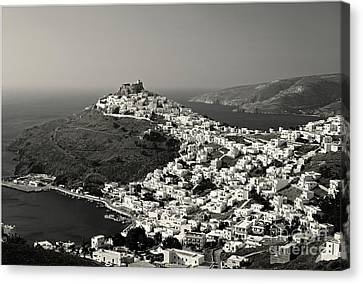 White Gems Canvas Print by Aiolos Greek Collections