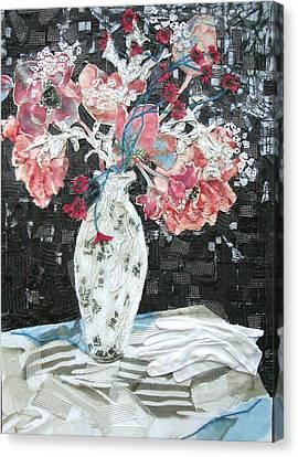 Canvas Print - White Glove by Diane Fine