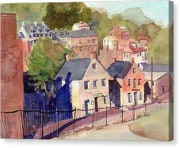 White Hall Tavern Canvas Print by Kris Parins