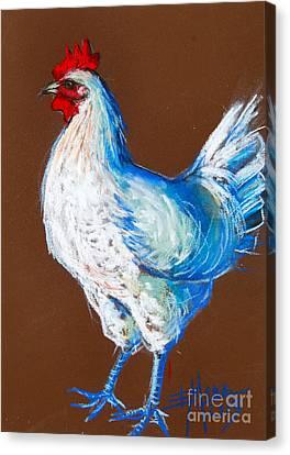 White Hen Canvas Print