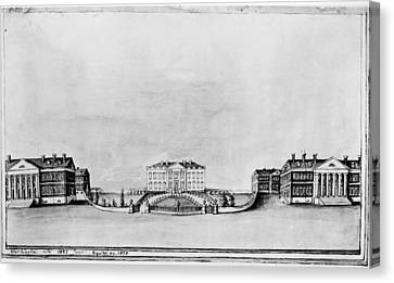 Carousel House Canvas Print - White House, 1821 by Granger