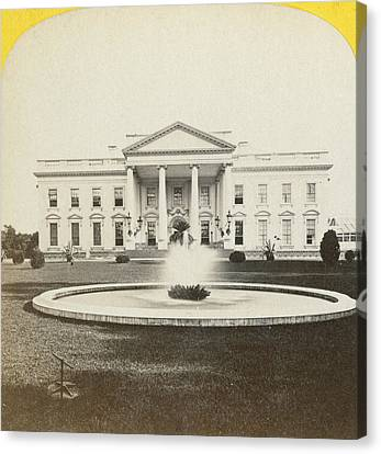 White House, C1882 Canvas Print