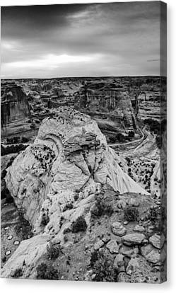 White House Overlook  Canyon De Chelly Canvas Print
