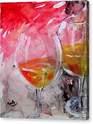 White Canvas Print by Marcello Cicchini