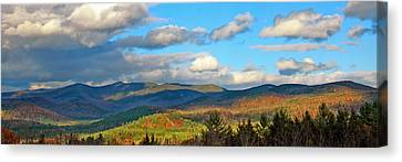 White Mountain Gold Canvas Print