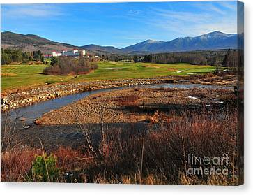 White Mountains Scenic Vista Canvas Print by Catherine Reusch Daley