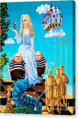 White Queen. Part 3 Canvas Print by Igor Postash