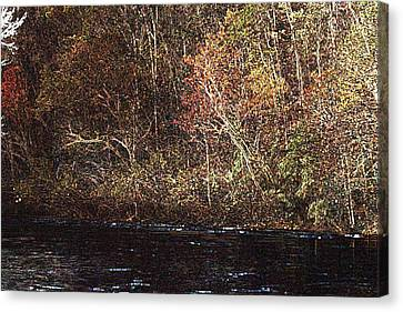 Canvas Print featuring the photograph White River by Donna Smith