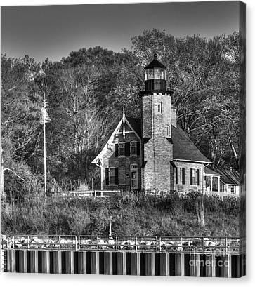 White River Lighthouse Canvas Print