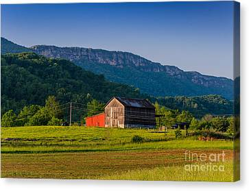 White Rocks Farm Canvas Print