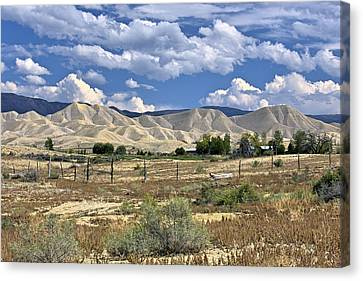White Sand Hills Montrose Colorado Canvas Print