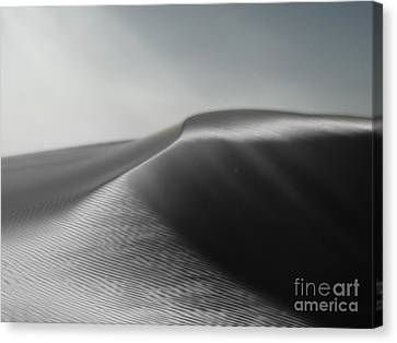 White Sands New Mexico Silver Dune Canvas Print by Gregory Dyer