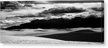 White Sands Nm Panorama Canvas Print