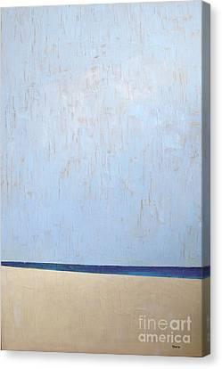 White Sandy Beach Canvas Print