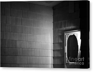 White Screen Door Canvas Print