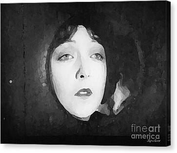 White Sister Canvas Print by Lyric Lucas