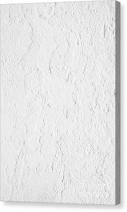 White Stucco Canvas Print