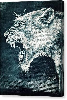 Leon Portrait Canvas Print