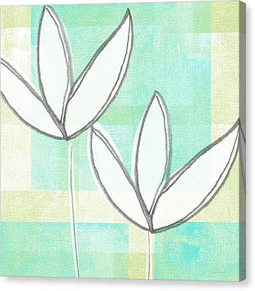 White Tulips Canvas Print by Linda Woods