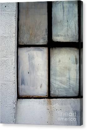 White Window Canvas Print by Robert Riordan